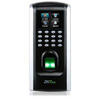 ZKTeco/中控智慧F7plus指纹识别密码门禁考勤一体机刷卡机网络打卡签到器双门木门铁门玻璃门门