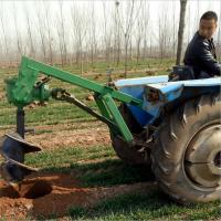 植树挖坑机制造商 高速螺旋打眼机 轻便手提挖坑机