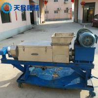 厂家直供植物纤维压榨脱水机 渣料压干机 渣浆压榨分离机