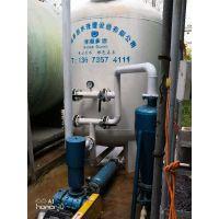 温泉水 地下深井水 自来水加热后变黄有水垢怎么处理 井水除铁除锰过滤器