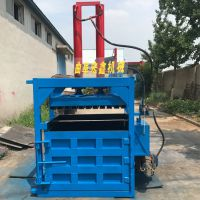 20吨压力打包机 回收站废纸箱液压打捆机 卡特废轮胎立式打包机厂家