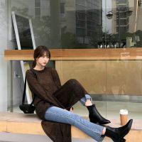 无涩一诺外贸女装尾货清仓女装 品牌服装折扣加盟店尾货灰色打底裤