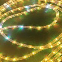 厂家直销LED彩虹管 户外防水LED灯带 36灯/米 LED造型灯专用