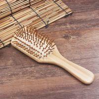 058保健按摩梳创意款美发梳楠竹木梳子外贸货源气囊梳支持定制