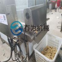 兰花干油炸机 连续式兰花干油炸机 炸豆腐串生产线