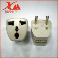 供应 欧规转换插座插头转换头  欧式欧标电源转换插头