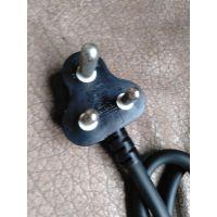 南非插头SANS标志电线 SABS认证大小南非插头电线电缆 品字尾插