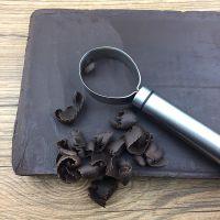 304不锈钢巧克力刨卷刀 巧克力刨屑刨花器 烘焙工具 巧克力刮刀