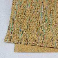 免费拿样 厂家直销 捷骏彩色软木布 可烫金 印刷软木墙纸(cork1-101#)