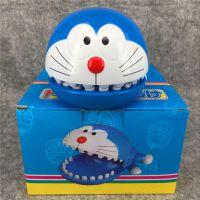 咬手哆啦A梦 机器猫 叮当按牙齿咬手指车载互动游戏恶搞整蛊玩具