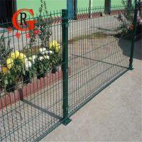 供应双边丝护栏网绿色圈地养殖铁丝护栏 临时防护