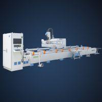派克厂家直销 新型高速四轴数控机床 轨道型材加工专用设备