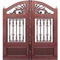 【荣顺护栏】设计独特-上海别墅铝艺庭院大门