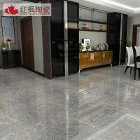 红枫陶瓷厂家供应高端金刚石800*800 通体大理石瓷砖别墅地板砖