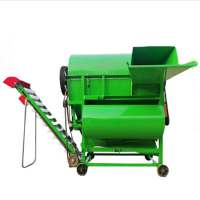 果秧分离机 干鲜两用花生摘果机 柴油机或电机可带动