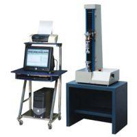 实验电脑拉力试验机 塑胶塑料万能材料机 桌上伺服电脑式单柱单臂拉力机