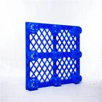 塑胶防潮地台板 仓库运输叉板九脚塑胶托盘厂家直销