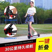 ?松鸟电动滑板车成人代驾折叠便携电动折叠车迷你代步两轮电瓶车