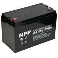 耐普蓄电池NP12-100 12V100AH直流屏电池