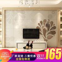 佛山 简约瓷砖背景墙 电视背景墙 客厅 3d背景墙 现代壁画生命树