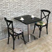 北欧两人餐桌椅定制厂家,餐饮家具定制