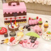 一件代发新款儿童过家家仿真木制切蛋糕女童玩具 宝宝2-3-6岁女孩
