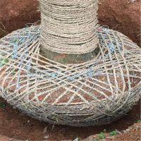 秋冬季库存包土球铁丝网,树根移植网,土球不易脱落网