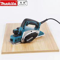 makita牧田木工手提式电刨 手推平刨 KP0800X 620W