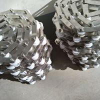 旋转小火锅塑料滚子输送链条 乾德机械输送不锈钢精密链条价格