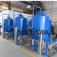 新疆乌鲁木齐除浊过滤器 华兰达多介质碳钢罐 全自动连续运行并联式过滤罐