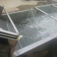 蔬菜清洗机厂家 康汇牌水果清洗机 QX-3米果蔬加工设备