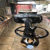 上海市海水污水泵厂管道截止Z541T-10Q DN150伞齿轮低压球墨铸铁涡轮明杆闸阀