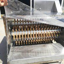 家禽七辊脱毛机 商用鸡鸭鹅脱毛机 禽类自动脱毛设备厂家定制