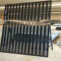 瓷砖展厅广告牌货架 800网孔板货架设计 永州市地板砖展示架