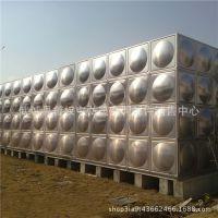 厂家直销方形玻璃钢消防水箱  不锈钢保温水箱 圆柱形水箱价格