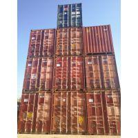 供应出售 租赁天津二手集装箱 干货箱 冷藏箱 开顶箱 箱型齐全
