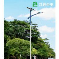防水超亮6米太阳能路灯 厂家定制 有现货农村一体化太阳能路灯