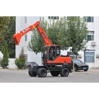 北京BD80W-8轮式挖掘机规格生产