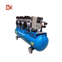 蓄电池生产用无油空压机 厂房气动工具配套无油静音空压机 彼迪