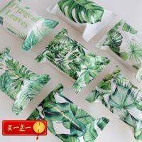 北欧热带植物纸巾盒客厅雨林纸巾袋纸抽盒纸抽袋抽纸袋布艺纸巾套