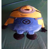 新款复仇者联盟版3d小黄人毛绒玩具公仔玩具神偷奶爸大号礼物