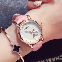 韩国时尚潮流女士皮带手表学生表韩版休闲女表批发水钻女生时装表