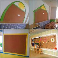 厂家热销成都软木板 学校 幼儿园软木墙裙