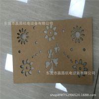 厂家直销卡纸牛皮纸窗花剪纸激光雕刻机 多头布料皮革激光切割机