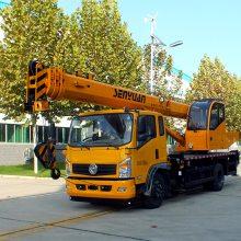 森源重工8吨汽车起重机价格 ,森源东方红8吨吊车,东风8吨吊车厂家
