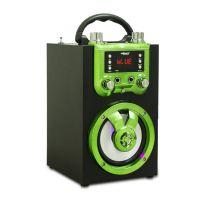 Musiccrown木质便携式卡拉OK蓝牙音箱 电台音箱