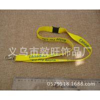 生产厂家大量定制胸牌吊绳 可热转印或丝印效果 带安全扣