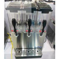 思贝斯冷热饮机YRSJ12x3 双温三缸果汁机果粒机商用全自动冷饮机