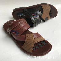2017夏季新款男凉鞋休闲大码防滑耐磨男式凉鞋越南两用沙滩凉拖鞋