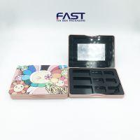 厂家直销9色眼影盒 化妆品盒 彩妆包材